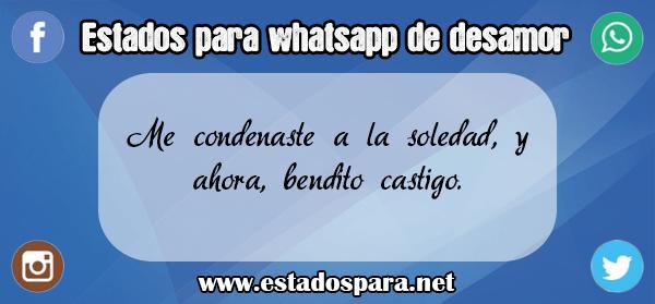 estados para whatsapp de desamor 1
